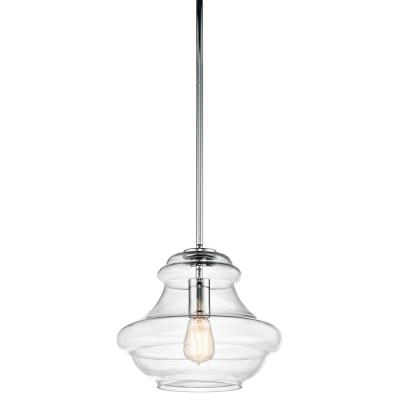 Kichler Lighting 42044CH Everly - One Light Pendant