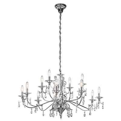 Kichler Lighting 42340CH Rizzo - Twelve Light Chandelier