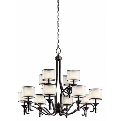 Kichler Lighting 42383MIZ Lacey - Twelve Light Chandelier