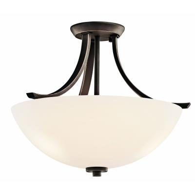 Kichler Lighting 42563OZ Granby - Three Light Semi-Flush Mount