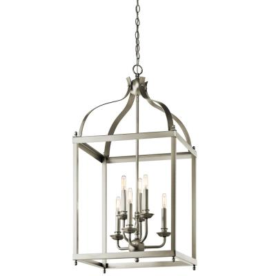 Kichler Lighting 42568OZ Larkin - Six Light Cage Foyer