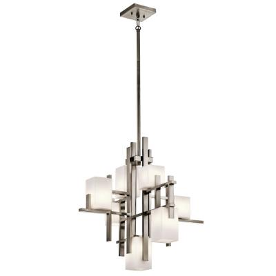 Kichler Lighting 42940CLP City - Seven Light Chandelier