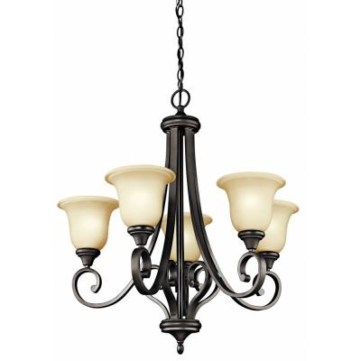Kichler Lighting 43156OZ Monroe - Five Uplight Chandelier