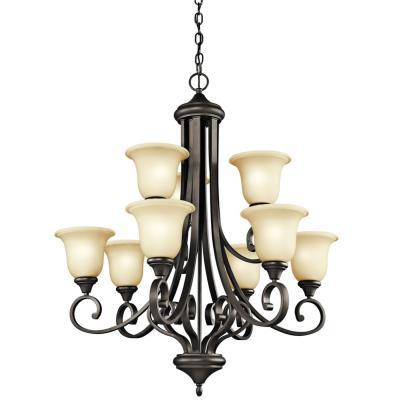 Kichler Lighting 43159OZ Monroe - Nine Light Chandelier