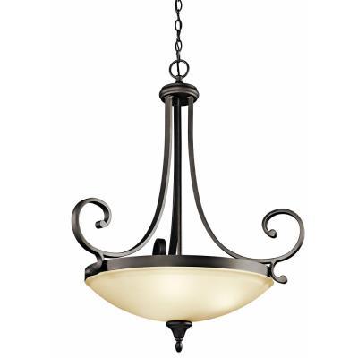 Kichler Lighting 43164OZ Monroe - Three Light Inverted Pendant