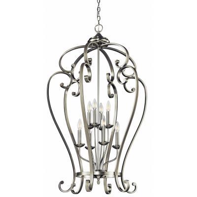 Kichler Lighting 43167NI Monroe - Eight Light Foyer