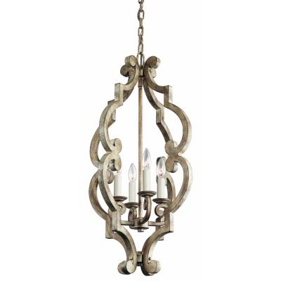 Kichler Lighting 43255DAW Hayman Bay - Four Light Foyer
