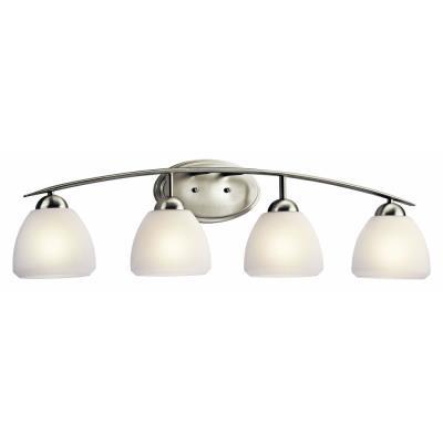 Kichler Lighting 45120NI Caleigh - Four Light Bath Vanity