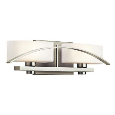 Kichler Lighting 45316NI Two Light Bath Bar