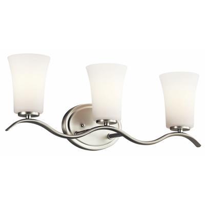 Kichler Lighting 45376NI Armida - Three Light Bath Bar