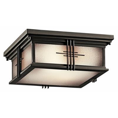 Kichler Lighting 49164OZ Portman - Two Light Outdoor Flush Mount