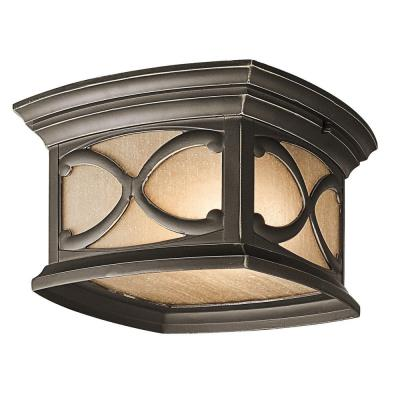 Kichler Lighting 49232OZ Franceasi - Two Light Outdoor Flush Mount