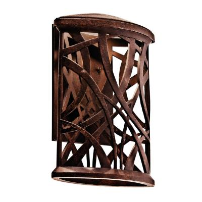 Kichler Lighting 4924 Maya Palm - One Light Outdoor Wall Mount