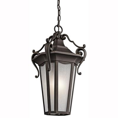 Kichler Lighting 49419RZ Nob Hill - One Light Outdoor Hanging Lantern
