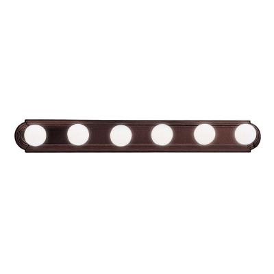 Kichler Lighting 5018TZ Six Light Bath Bar