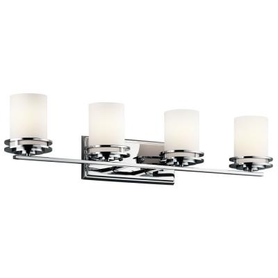Kichler Lighting 5079CH Hendrik - Four Light Bath Bar