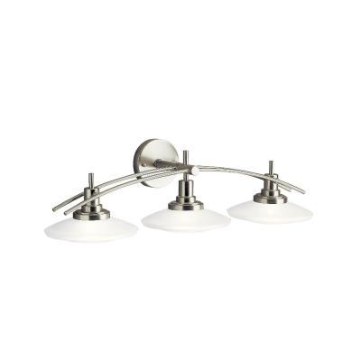 Kichler Lighting 6463NI Three Light Bath Bar