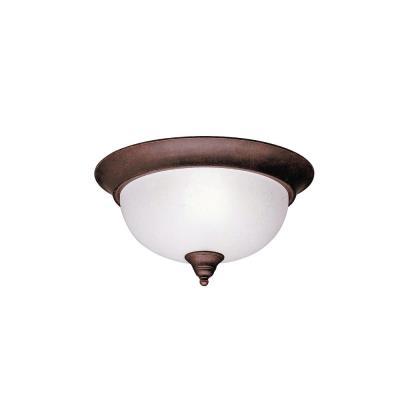 Kichler Lighting 8064TZ Dover - Two Light Flush Mount