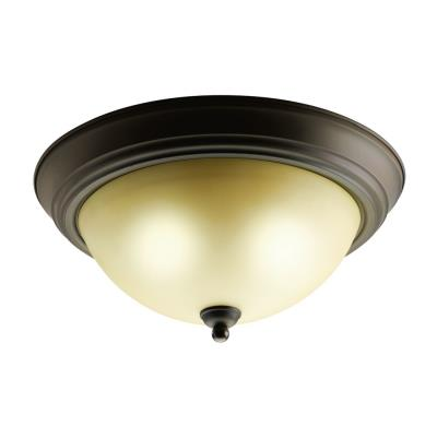Kichler Lighting 8109OZ Two Light Flush Mount
