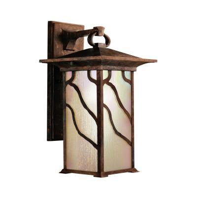 Kichler Lighting 9031DCO Morris - One Light Outdoor Wall Mount
