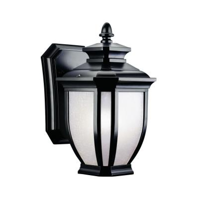 Kichler Lighting 9039BK Salisbury - One Light Outdoor Wall Mount