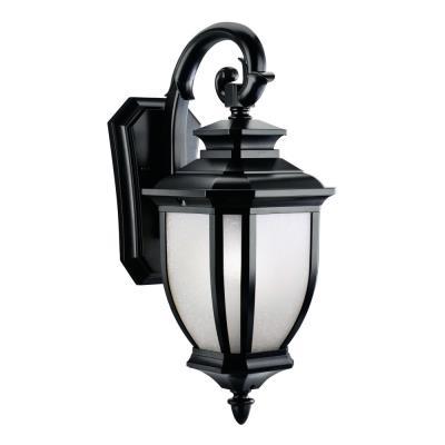 Kichler Lighting 9040BK Salisbury - One Light Outdoor Wall Mount