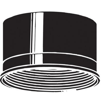 "Kichler Lighting 9544BK Accessory - 4.5"" Baffle"