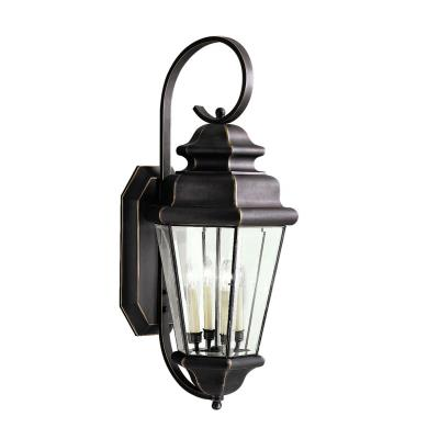 Kichler Lighting 9631OZ Savannah Estates - Four Light Outdoor Wall Bracket