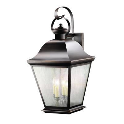 Kichler Lighting 9704OZ Mount Vernon - Four Light Outdoor Wall Mount