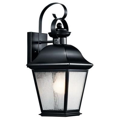 Kichler Lighting 9708BK Mount Vernon - One Light Medium Outdoor Wall Lantern