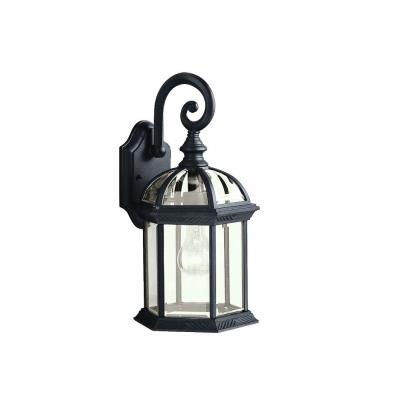 Kichler Lighting 9735BK New Street - One Light Outdoor Wall Bracket