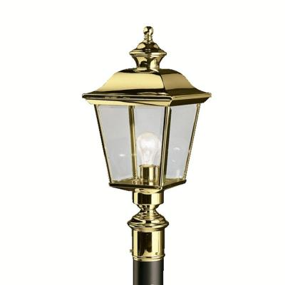 Kichler Lighting 9913PB Bay Shore - One Light Post Mount