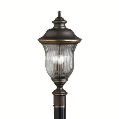 Kichler Lighting 9932OZ Sausalito - Three Light Post Mount