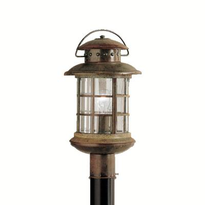Kichler Lighting 9962RST One Light Post Mount