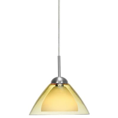 LBL Lighting HS245-MR2 Dome-SI Coax - 2-Circuit Monorail Low-voltage Pendant