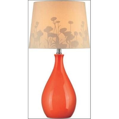 Lite Source LS-21489ORN One Light Table Lamp