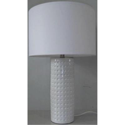 Lite Source LS-21979WHT One Light Table Lamp