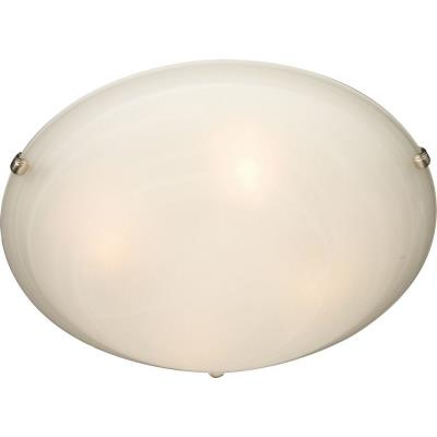 Maxim Lighting 11060MRSN Malaga - Four Light Flush Mount