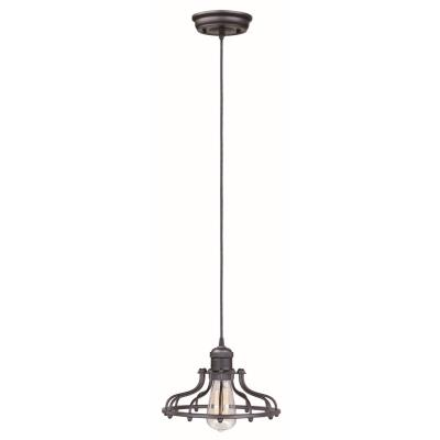 Maxim Lighting 25024BZ Mini Hi-Bay - One Light Pendant