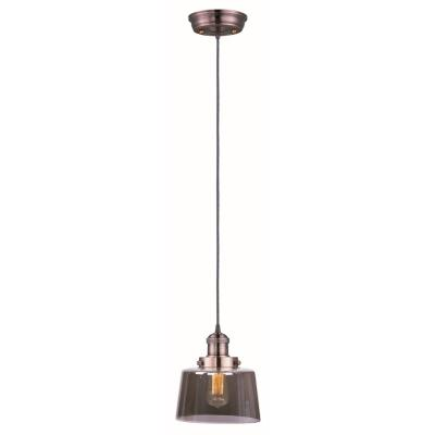 Maxim Lighting 25029MSKACP Mini Hi-Bay - One Light Pendant