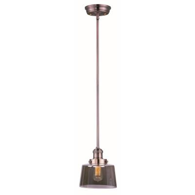 Maxim Lighting 25049MSKACP Mini Hi-Bay - One Light Pendant