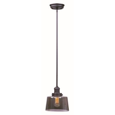 Maxim Lighting 25049MSKBZ Mini Hi-Bay - One Light Pendant