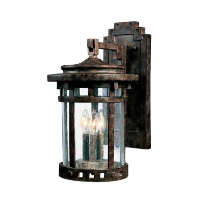 Maxim Lighting 3135 Santa Barbara DC - Three Light Outdoor Wall Mount