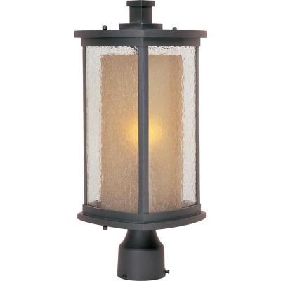 Maxim Lighting 3150CDWSBZ Bungalow - One Light Outdoor Post Mount