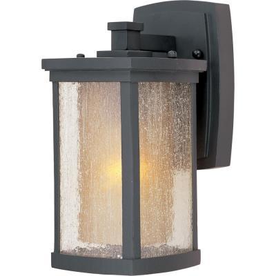 Maxim Lighting 3152CDWSBZ Bungalow - One Light Wall Mount
