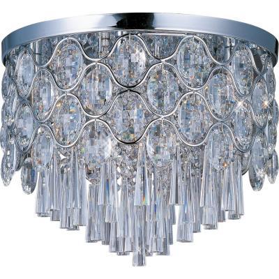 Maxim Lighting 39920BCPC Jewel - Twelve Light Flush Mount
