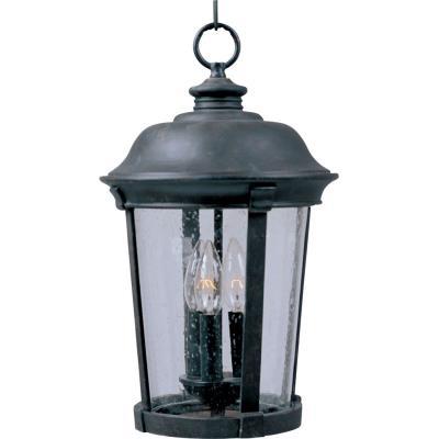 Maxim Lighting 40099CDBZ Dover VX - Three Light Outdoor Hanging Lantern