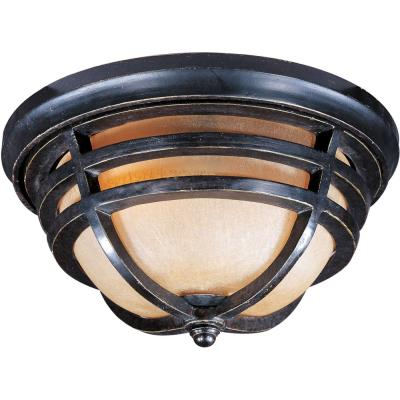 Maxim Lighting 40109MCAT Westport VX - Two Light Outdoor Flush Mount