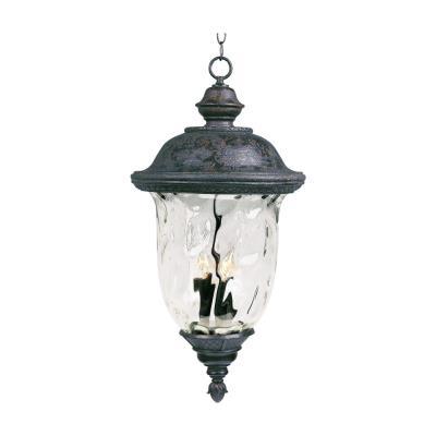 Maxim Lighting 40428WGOB Carriage House VX - Three Light Outdoor Hanging Lantern