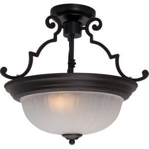 Essentials - Two Light Semi-Flush Mount